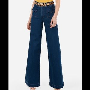 NWT Retro Wide leg Flare from Express